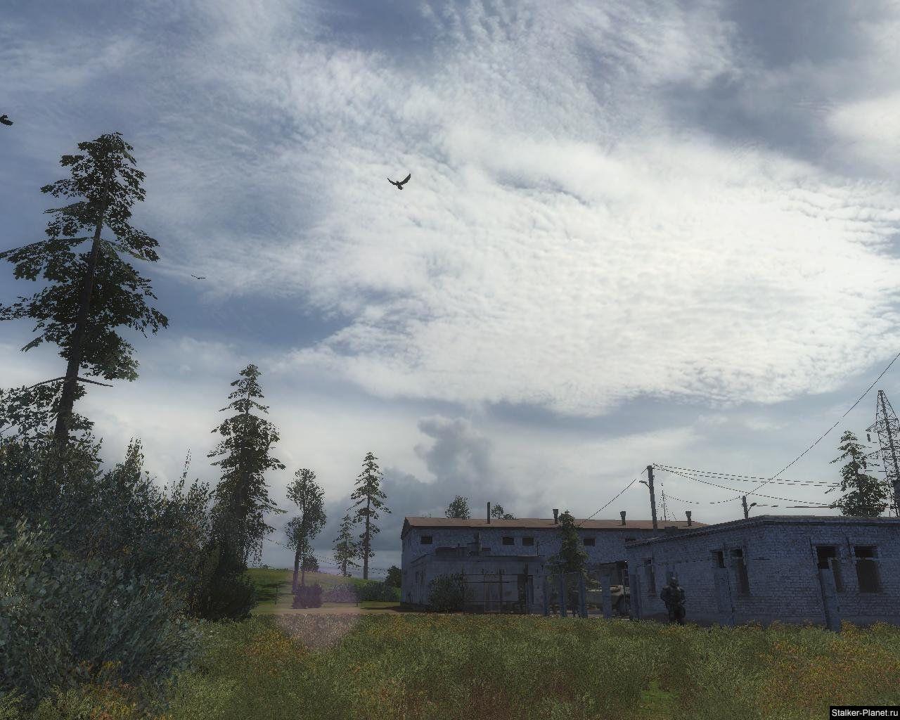 Перистые облака над Зоной