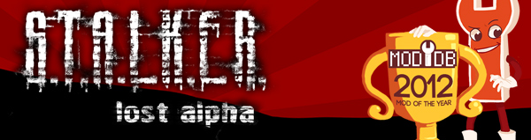 Lost Alpha на Mod of the Year 2012